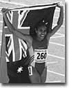 Cathy Freeman (Courtesy National Library of Australia)