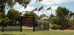 St Mary's College flags